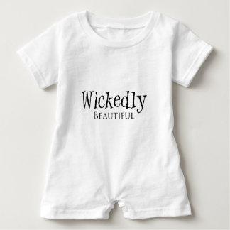 Wickedly Beautiful Halloween Girls Apparel Baby Bodysuit