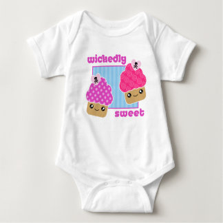 Wickedly Sweet Kawaii Cupcakes Baby Baby Bodysuit