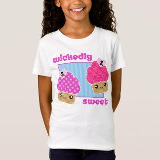 Wickedly Sweet Kawaii Cupcakes T-Shirt