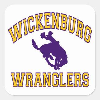 Wickenburg Wranglers Square Sticker