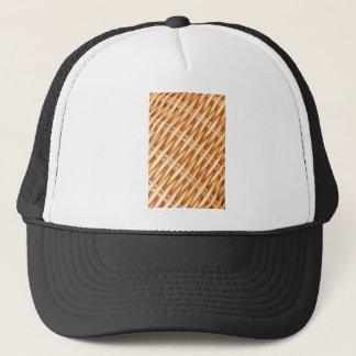 Wicker background trucker hat
