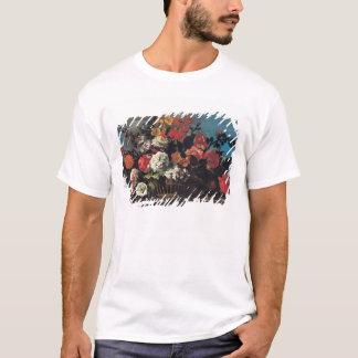 Wicker Basket of Flowers T-Shirt