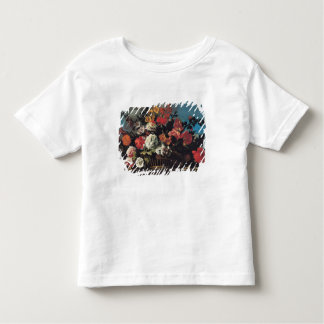 Wicker Basket of Flowers Toddler T-Shirt