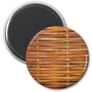 Wicker Basket Weave - Magnet