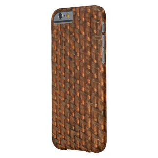 Wicker Basket Woven Brown iPhone 6/6s Barely There iPhone 6 Case