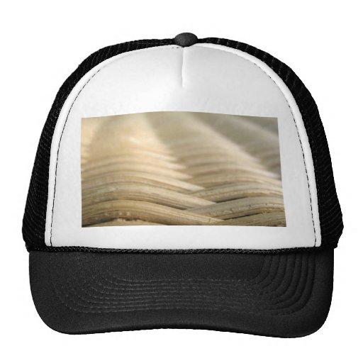 Wicker Board Mesh Hat