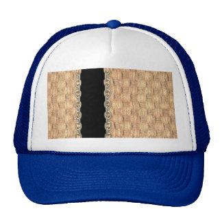 Wicker Chain pattern by Valxart.com Hat