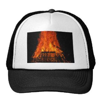 Wicker fire cap