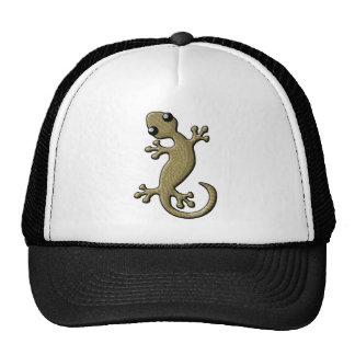 Wicker gecko cap