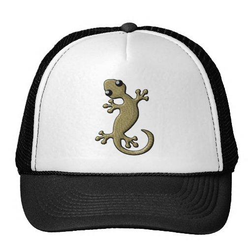 Wicker gecko hat