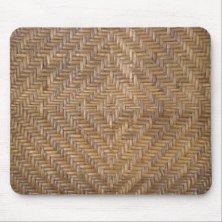 wicker pattern mouse mat