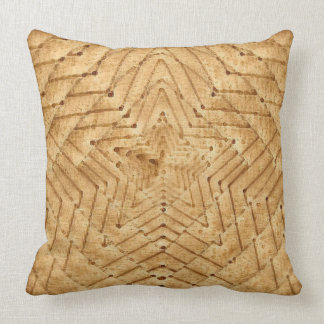 Wicker Star Cushion
