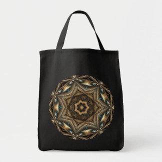 Wicker Star Mandala Abstract - Bag