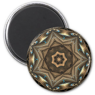 Wicker Star Mandala • Magnet