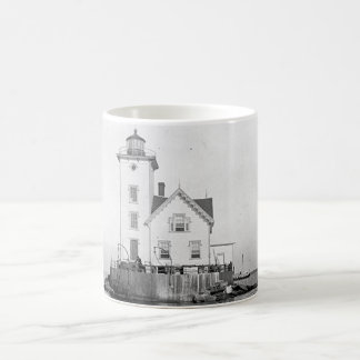 Wickford Harbor Lighthouse Coffee Mug