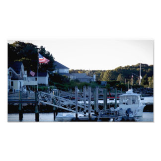 Wickford Harbor Rhode Island 2 Print Photographic Print