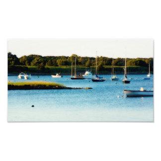 Wickford Harbor Rhode Island Print Art Photo