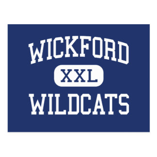 Wickford Wildcats Middle North Kingstown Postcard