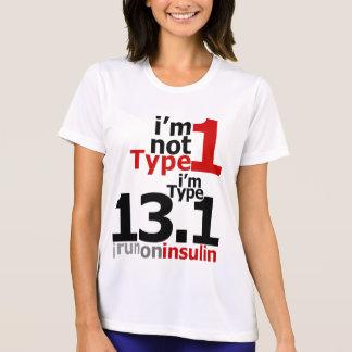 Wicking - Women's Type 1 Diabetic Half-Marathoners T-Shirt