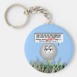 Widdle Ball in the Rough Key Chains