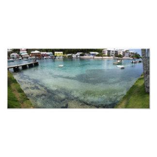 Wide-angle panorama of Flatts Inlet Art Photo