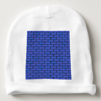 Wide Blue Wall Background Baby Beanie