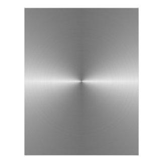 wide circular steel 21.5 cm x 28 cm flyer