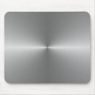 wide circular steel mouse mat