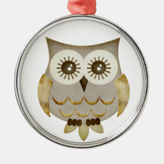 Wide Eyes Owl Ornament
