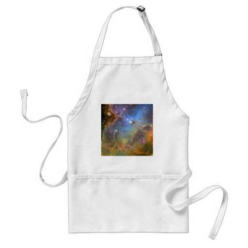 Wide-Field Image of the Eagle Nebula Aprons