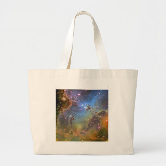 Wide-Field Image of the Eagle Nebula Large Tote Bag