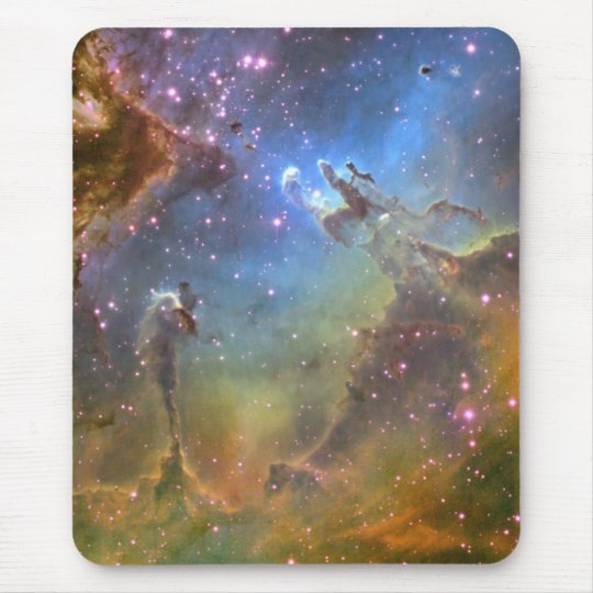 Wide-Field Image of the Eagle Nebula Mouse Mat