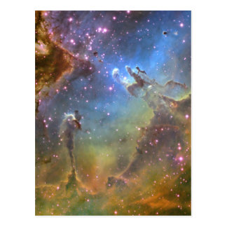 Wide-Field Image of the Eagle Nebula Postcard