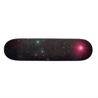 Wide Field View Constellation Cetus Stars Skateboards