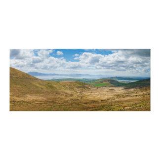 Wide Landscape Down to Dingle Canvas Print