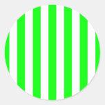 Wide Lime Stripes