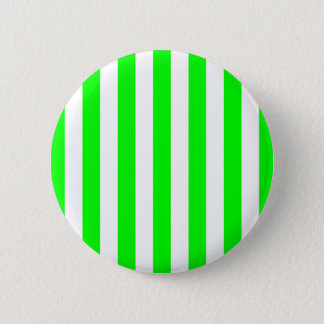 Wide Lime Stripes 6 Cm Round Badge