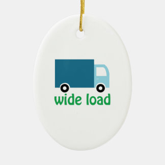 Wide Load Christmas Ornament