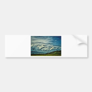 Wide Open Space Bumper Sticker