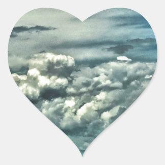 Wide Open Space Heart Sticker