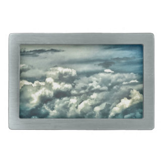 Wide Open Space Rectangular Belt Buckles