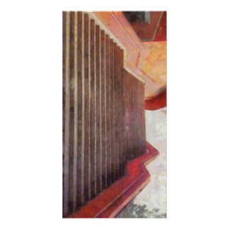 Wide open stairs photo cards
