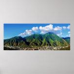 wide panoramic view of El Avila National Park Impresiones