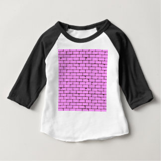 Wide Pink Wall Background Baby T-Shirt