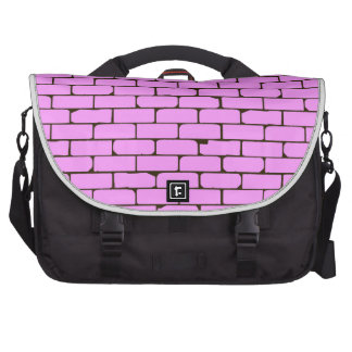 Wide Pink Wall Background Commuter Bag
