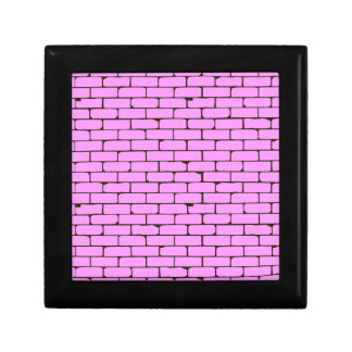 Wide Pink Wall Background Gift Box
