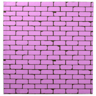 Wide Pink Wall Background Napkin