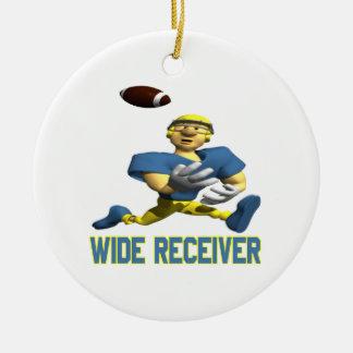 Wide Receiver Christmas Ornament