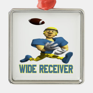 Wide Receiver Christmas Tree Ornament