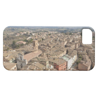 Wide shot of the hill town of Siena, Italy, Barely There iPhone 5 Case